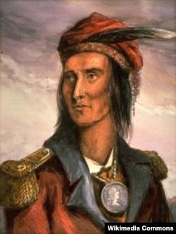 Tecumseh, a Shawnee leader