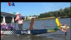 Kompetisi Kapal Naga Para Penderita Kanker di AS