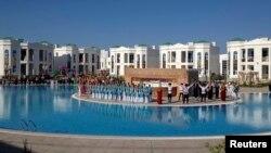 د آوازه په نوم د ترکمنستان یو تفریح ځای