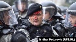 Policija i borci su se sukobili na glavnoj sarajevskoj saobraćajnici, 5. septembar