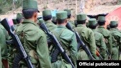 ကိုးကန္႔တပ္ဖြဲ႔၀င္မ်ား (ဓါတ္ပံု-KoKang Army)