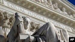 美国最高法院西侧