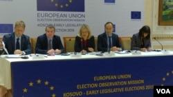Konferencija za medije posmatračke misije EU u Prištini, 8. oktobra 2019.