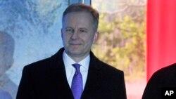 Gubernur Bank Sentral Latvia, Ilmars Rimsevics.