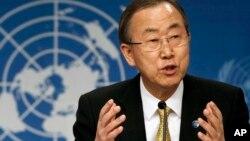 El secretario general de la ONU, Ban Ki-moon se reunirá el lunes en Ginebra con el canciller venezolano Elías Jaua.