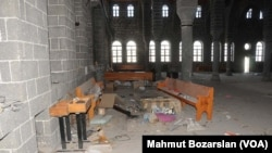 Surp Giragos Ermeni Kilisesi YPS üyeleri tarafından revir olarak kullanıldı