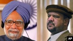 دیدار معاون رئیس جمهور کرزی با رهبران هند در دهلی جدید