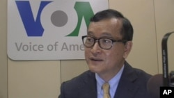 Sam Rainsy said last week the complaints were not part of political brokering for his return to Cambodia, where he faces years of imprisonment.