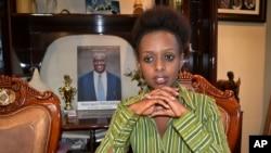 Diane Shima Rwigara, 35, 'yar takarar kujerar shugaban kasar Rwanda