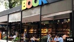 Một tiệm sách tại Sài Gòn. Hình minh họa.