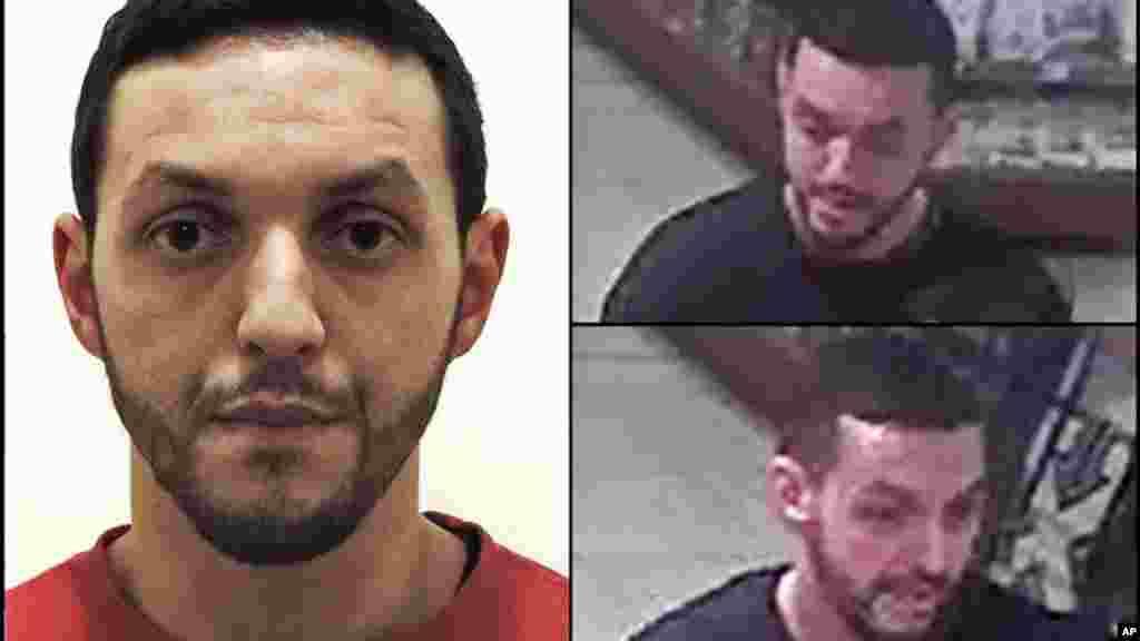 Mohamed Abrini, l'un des principaux suspects des attentats de Paris, 24 novembre 2015