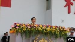 马英九:历史不容篡改 中华民国主导了抗战