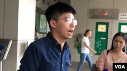 Joshua Wong, salah seorang pemimpin gerakan protes Hong Kong