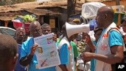 Ebola đã lan rộng bất chấp những biện pháp ngăn chận của các giới chức y tế trong khu vực.