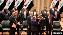 ساختار کنونی حکومت عراق به خاطر ایجاد توازن قومی قدرت شکل گرفته بود