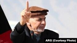 Shugaba Ashruf Ghani na Afghanistan
