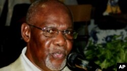 Zimbabwe opposition party leader Dumiso Dabengwa.