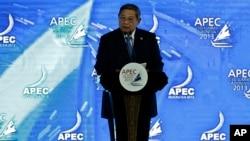 Президент Индонезии Сусило Бамбанг Юдхойоно. Бали. 6 октября 2013 г.