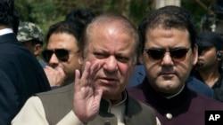 PM Nawaz Sharif na Pakistan, murabus.