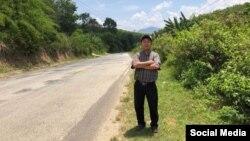 Linh mục Đinh Hữu Thoại, Ảnh: Facebook Tin Mừng cho Người nghèo.