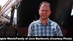 Montenegrin journalist Jovo Martinović