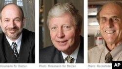 美國的比尤特勒﹑盧森堡的霍夫曼和加拿大的斯坦曼獲得今年諾貝爾醫學獎