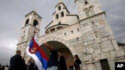 Crkv Hristovog vaskrsenja u Podgorici (Foto: AP/Darko Vojinović)