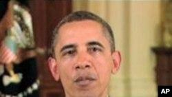 奥巴马总统录像致辞祝贺美国之音首播70周年