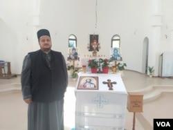 Miroslav Krnješin paroh Hrama Hrista Carja Banja Luka