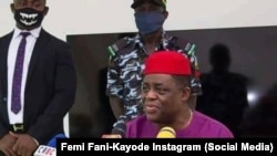 Femi Fani-Kayode, tsohon ministan harkokin sufuri a Najeriya