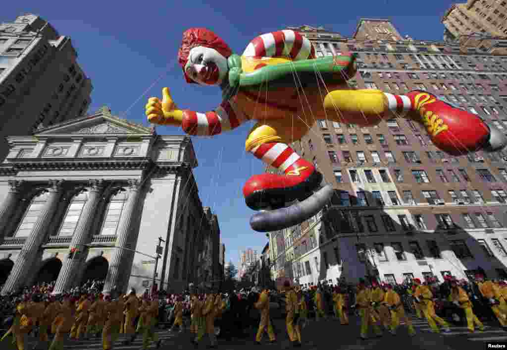 Парад на День Благодарения