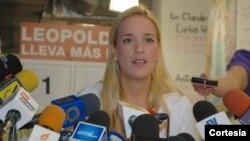 Tintori espera que el Papa interceda por los venezolanos.