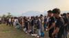 香港示威者折纸鹤悼亡灵
