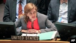 Đại sứ Hoa Kỳ tại Liên hiệp quốc Samantha Powers.