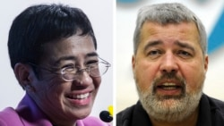 Nobel Peace Prize Awarded to Philippine, Russian Press Freedom Defenders