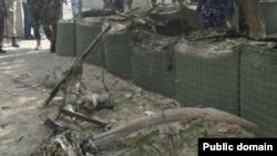 Blast near somalia's presidential palace.