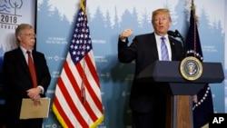 قرار است جان بولتون، مشاور امنیت ملی پرزیدنت ترامپ، این تصمیم را با ولادیمیر پوتین در میان بگذارد.