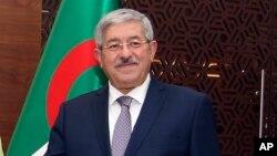 L'ancien premier ministre algérien Ahmed Ouyahia, à Alger, le 17 septembre 2018.