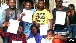 Angola manifestantes libertados