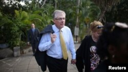 El presidente ejecutivo de Caterpillar, Dough Oberhelman dijo que su empresa podrá comenzar a trabajar en el mercado cubano tan pronto se levante el embargo de EE.UU. a la isla.