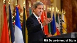 El secretario de Estado de EE.UU., John Kerry, habló sobre la próxima Cumbre de las Américas.