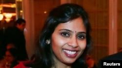 Devyani Khobragade, India's deputy consul general, attends the India Studies Stony Brook University fundraiser event in Long Island, New York, Dec. 8, 2013.