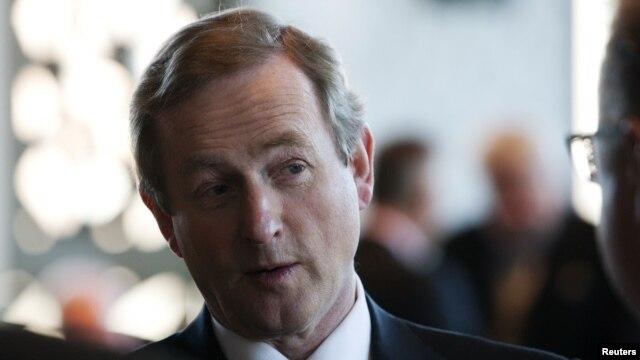 Irish Prime Minister Enda Kenny, February 9, 2012.