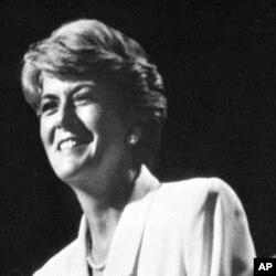 費拉羅於1984年出席民主黨代表大會(資料圖片)