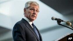 El secretario de Defensa de EE.UU. hizo el anuncio en el cuartel general de la Agencia de Seguridad Nacional (NSA), en Maryland.
