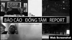 Trang bìa Báo cáo Đồng Tâm, phiên bản thứ ba, do Nhà báo Phạm Đoan Trang và nhà hoạt động Will Nguyễn thực hiện, công bố ngày 25-9-2020.