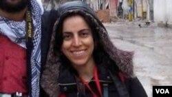 為美國之音工作的自由記者哈吉佳法爾欽。