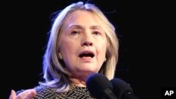 힐러리 클린턴 미 국무장관 (자료사진).