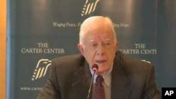 مصری فوج کو سول حکومت کے تابع ہونا چاہیے: جمی کارٹر