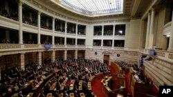 Grek qonunchilar yangi prezidentni saylashni uddalay olmadi. 29-dekabr, 2014-yil.